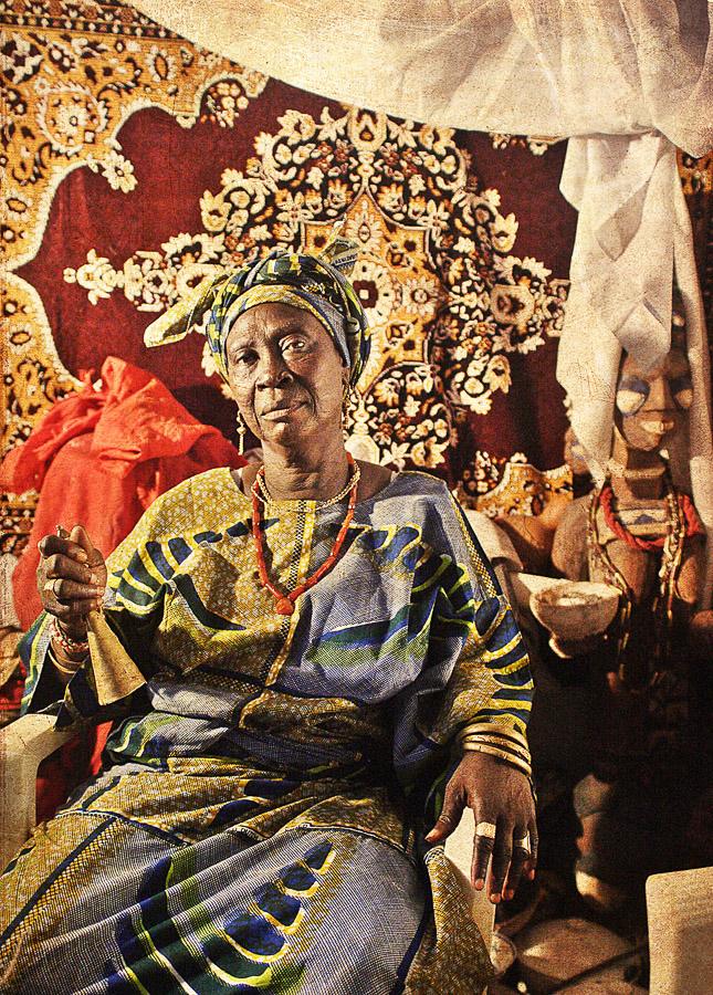 Emissaries of an iconic religion1. Orisa Egbe [deity of destiny] - Mrs Osun yita