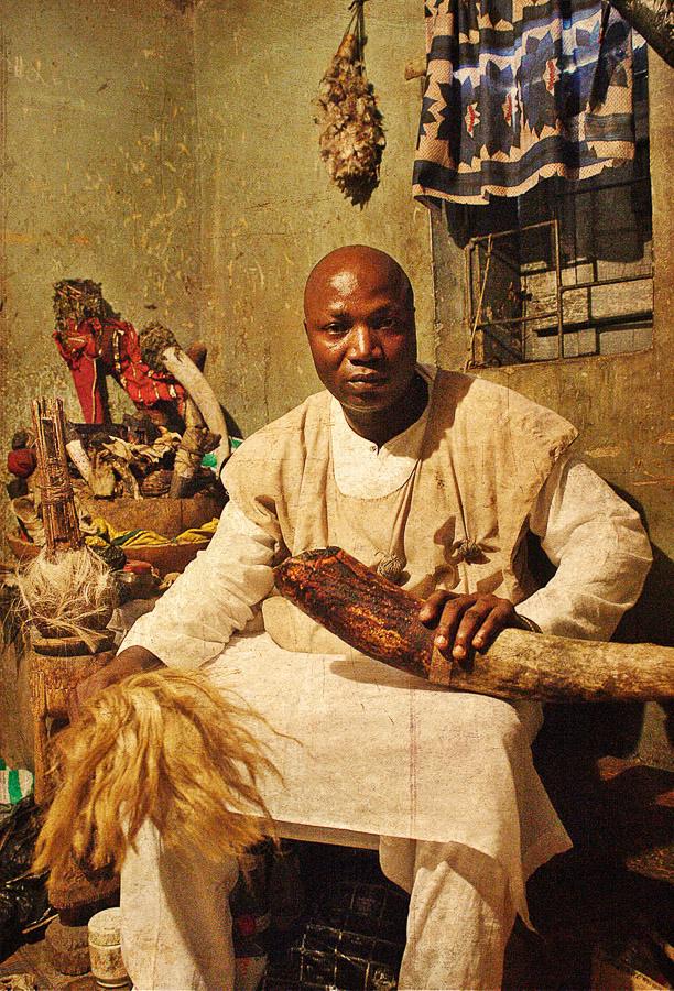 Emissaries of an iconic religion10. Orisa Imole [deity of defence and judgment] - cheif Aderemu Awogemi Akeke