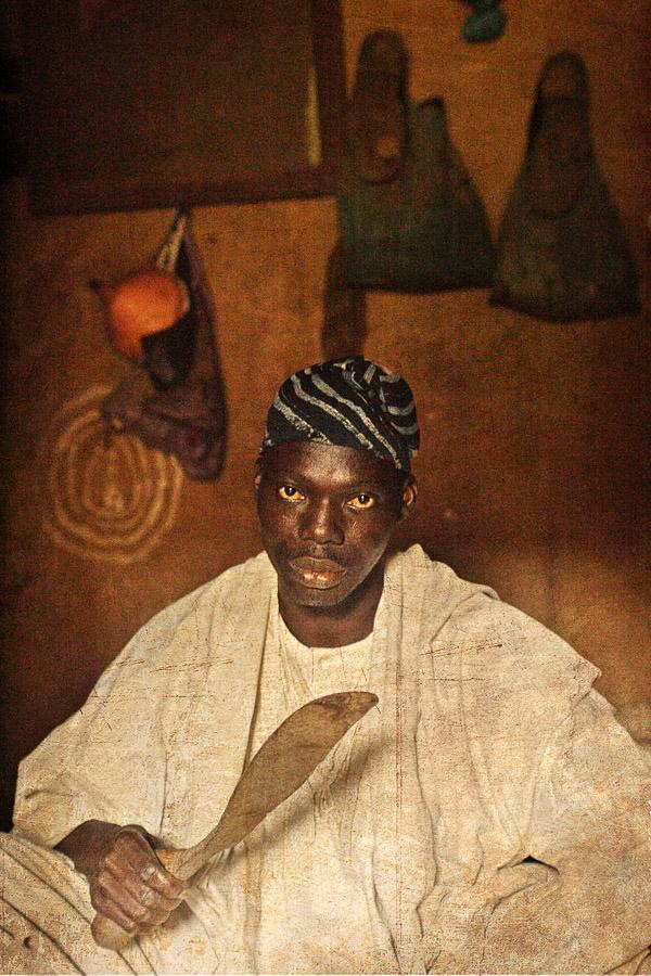 Emissaries of an iconic religion12. Orisa Obatala [deity of creation] - Chief Awolowo Osasana Oyeniyi