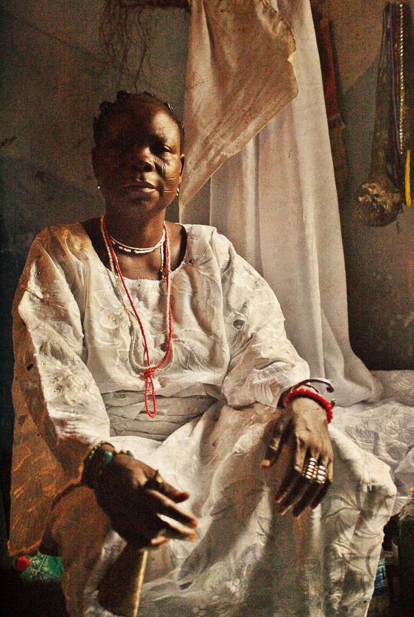 Emissaries of an iconic religion13. Orisa Lajoomi [diety of children] - Mrs. Ogunremi Lekun
