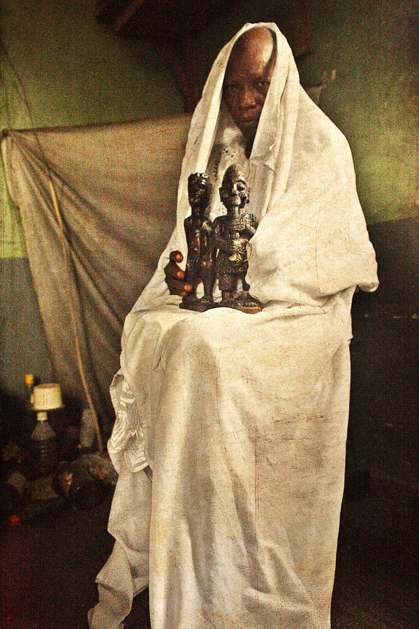 Emissaries of an iconic religion14. Orisa Otomporo [deity of water & prosperity] - Chief Oladapo Aremu
