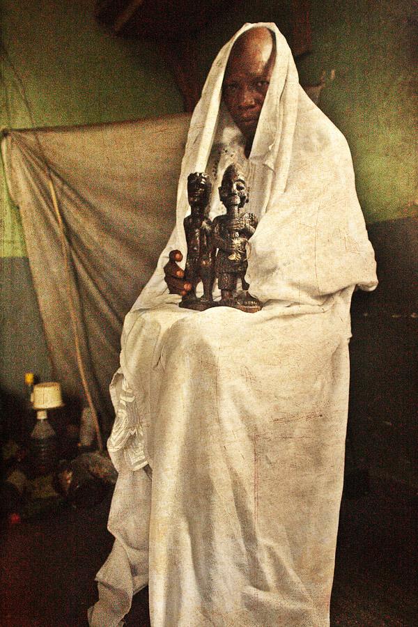 Emissaries of an iconic religion14. Orisa Otomporo [deity of water & prosperity] - Chief Oladapo Aremu