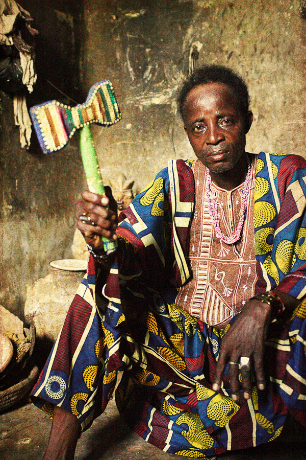 Emissaries of an iconic religion17. Orisa Agbajere [diety of protection] - Chief Sangokanmi Agbajere Timi Ede