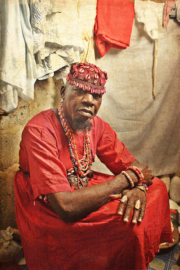 Emissaries of an iconic religion19. Orisa Sanpanaa [diety of measles] - Chief Bolanle