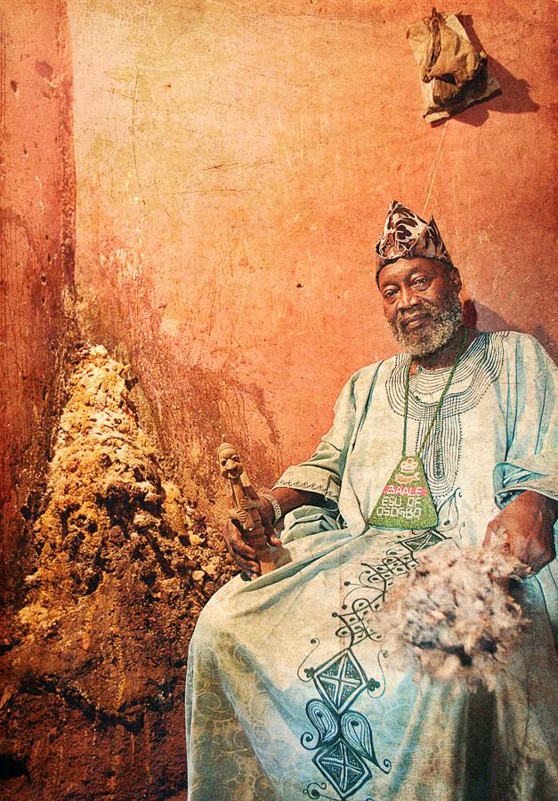 Emissaries of an iconic religion20. Orisa Esu [the morning star] - Chief Kayode Idowu Esuleke